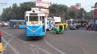 Kolkata Tram route 24/29 Tollygunge -  Ballygunge