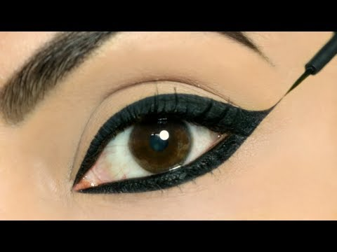 Use These TRICKS To Apply Perfect Wing Eyeliners on BOTH Eyes   Shruti Arjun Anand