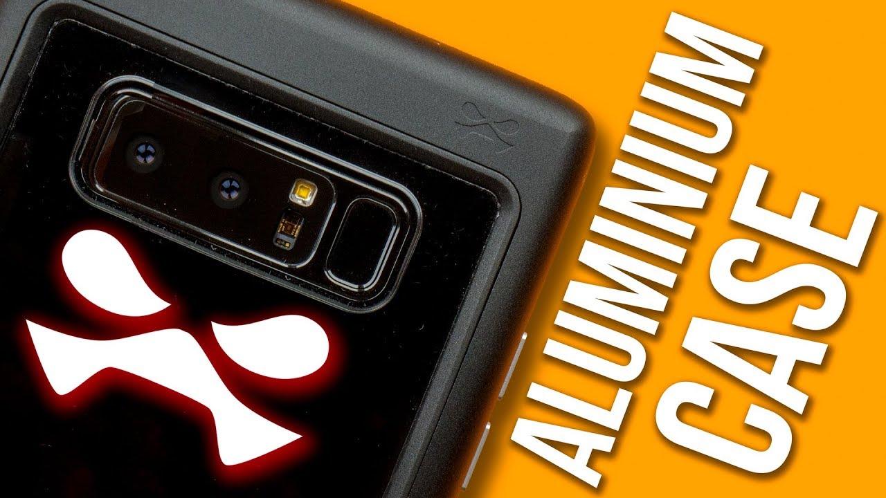 ghostek note 8  An ALUMINUM Note 8 Case?! - Ghostek Atomic Slim Case for Samsung ...