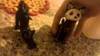 Как перекрасить статуэтку кошки или новости