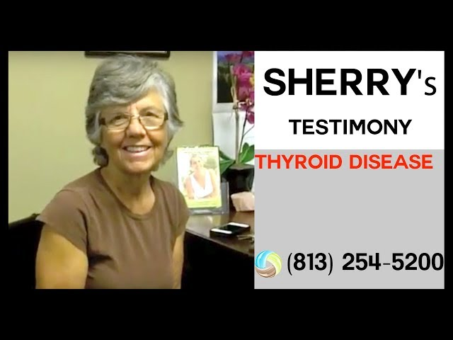Sherry's Success Story with her high Thyroid
