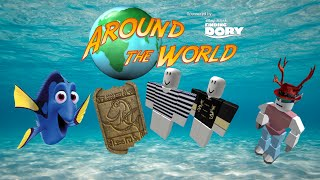 Roblox Finding Dory Event | How to get the Dory Hieroglyph, Jacket of Fury, and Breton Striped Shirt