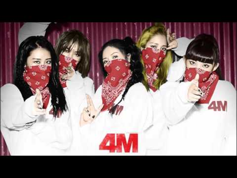 4Minute  - 싫어 (Hate) mp3 + Download Link