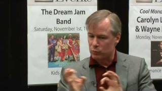 David Robertson: Offstage at Barnes & Noble (3 of 7)