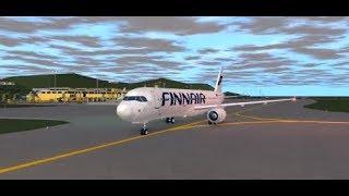 ROBLOX VFS Vuelo A321 Finnair II Nuevo Aeropuerto!