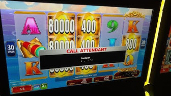 MASSIVE! MALFUNCTIONING NEW MACHINE BANKRUPTS CASINO! OVER 2000X WIN Konami Jackpot Handypay! POKIE