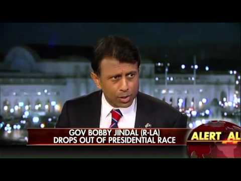 Bobby Jindal Announces He's Dropping Out of 2016 Presidential Race Nov.17th