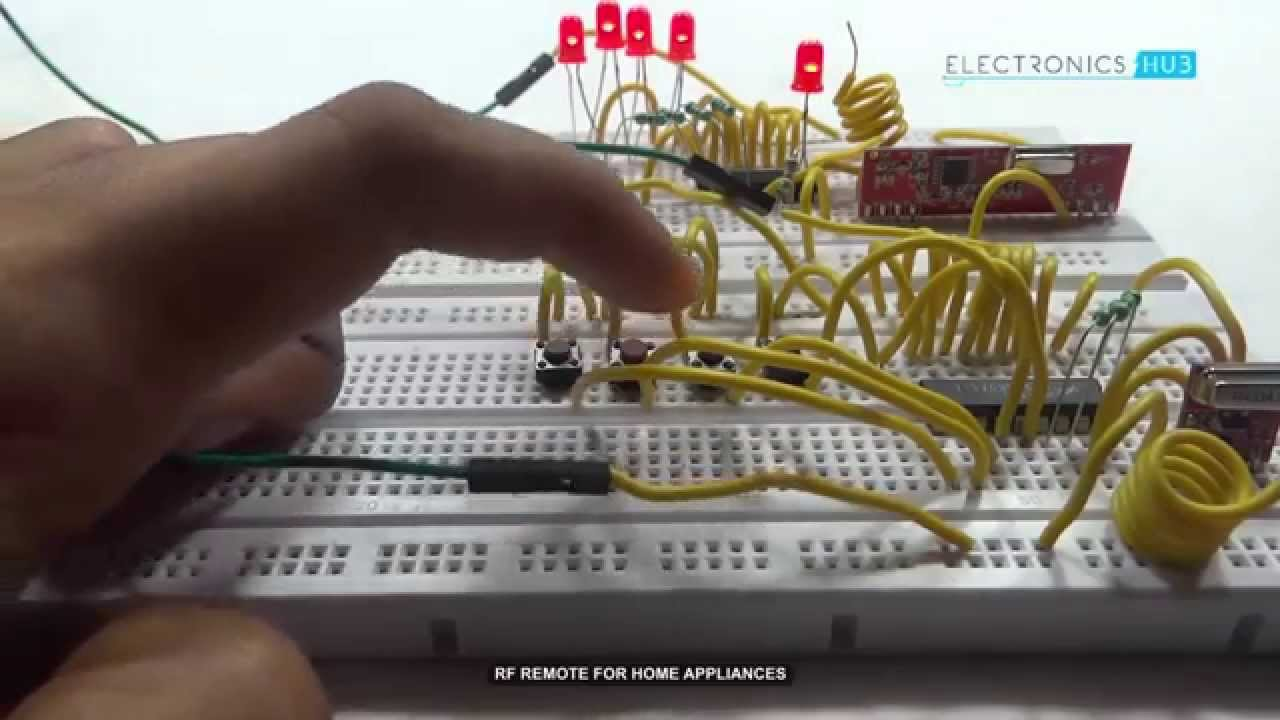 Rf Remote Based Home Automation System Without Microcontroller Youtube Dtmf Fm Control Circuit Diagram Centre Premium
