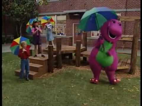 Barney Songs - Raindrops Song