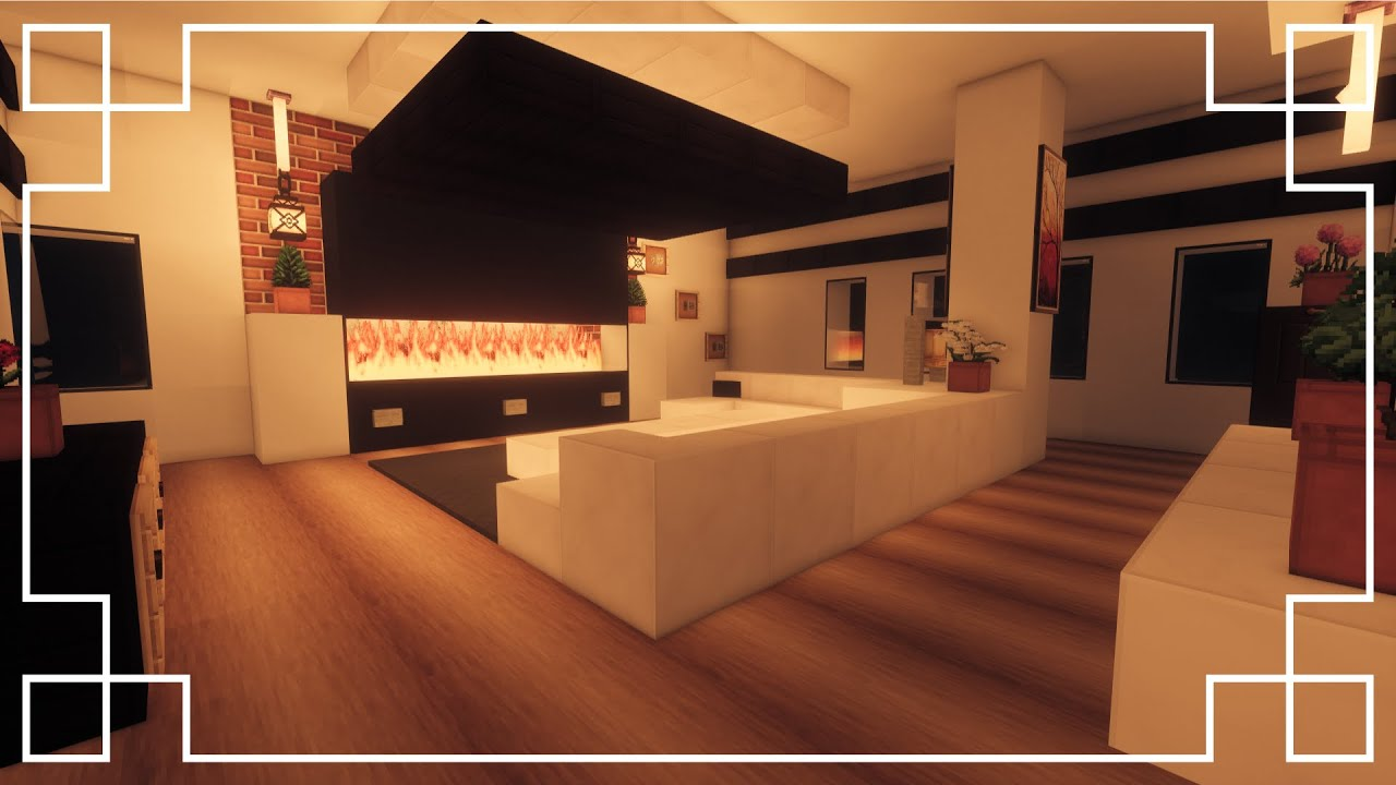 ⚒️[Minecraft]  How to make a Living Room