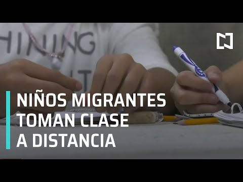 Educación para niños migrantes en albergues de Tijuana - En Punto