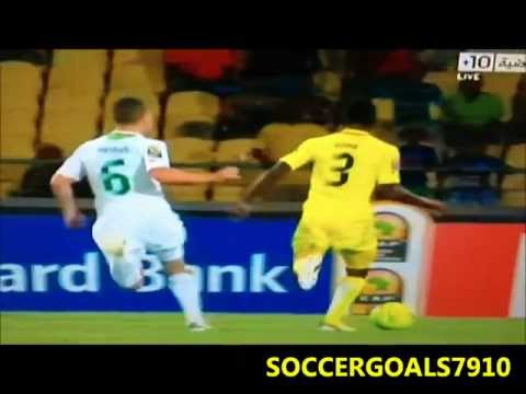 Togo 2-0 Algeria Goals African Nations Cup 2013 (Group D)