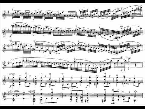 Ysaÿe, Eugène Sonate 2(end) 6 Sonates op.27