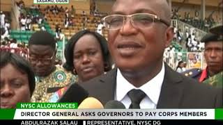 NYSC urges governors to pay Corps members allowances