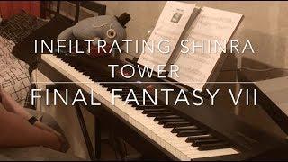Final Fantasy VII - Infiltrating Shinra Tower piano