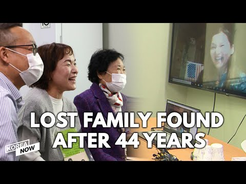 Korean Family Discovers Missing Child Was Adopted by American Family After 44 Years