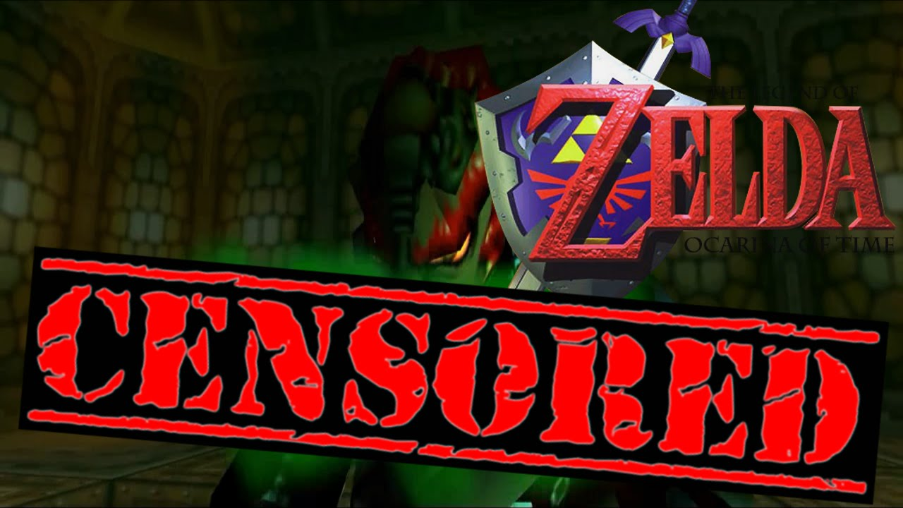 Censoring video games