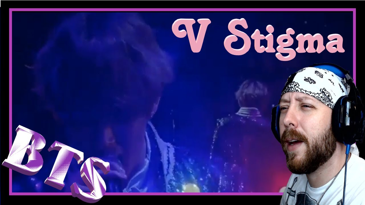 V (BTS) - Stigma LIVE Performance (and lyrics) Reaction | So high he's gonna fly away...