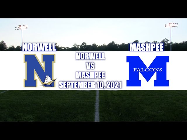 The Sideline Cam Norwell vs Mashpee - Football - 9/10/21