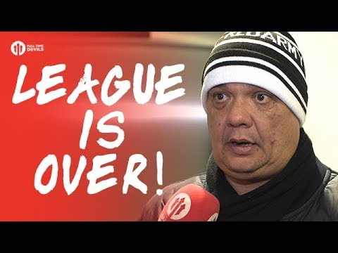 League is Over! Manchester United 1-2 Manchester City FANCAM