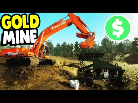 Download Youtube: $1,000,000 GOLD MINE ASSEMBLY & OPERATION | Gold Rush: The Game Gameplay