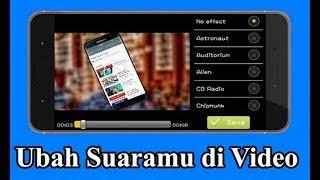 CARA MENGUBAH SUARA VIDEO SEPERTI CHIPMUNK PAKE ANDROID..