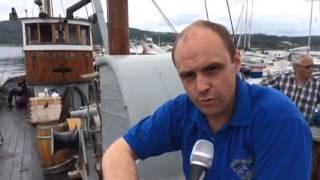 Repeat youtube video Maritim Dag får besøk av kutteren Tampen