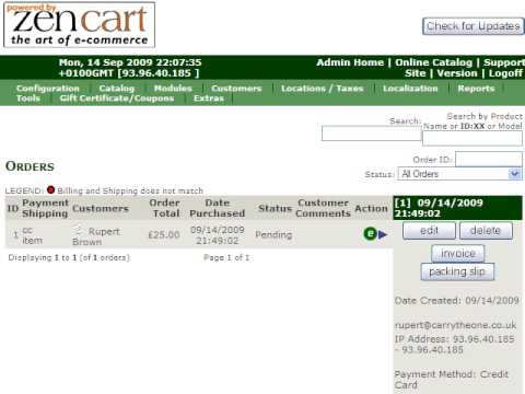 zen cart invoice importer for freshbooks - youtube, Invoice examples