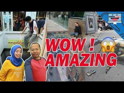 27 FOTO STREET ART ILLUSION YANG KEREN