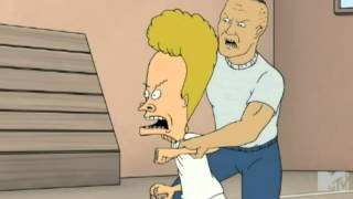 """Beavis & Butt-Head - """"It's alright to cry, crying takes the sad out of you."""""""