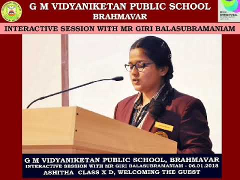 "Interactive Session with Mr Giri ""Pickbrain"" Balasubramaniam..!!"
