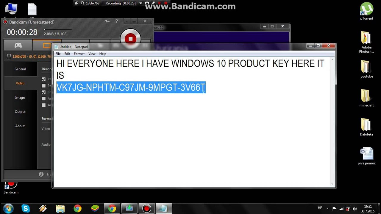 Windows 10 Serial Key Generator