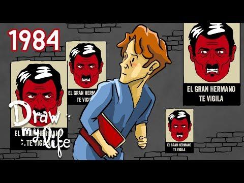 1984 De George ORWELL | Resumen En DIBUJOS | Draw My Life