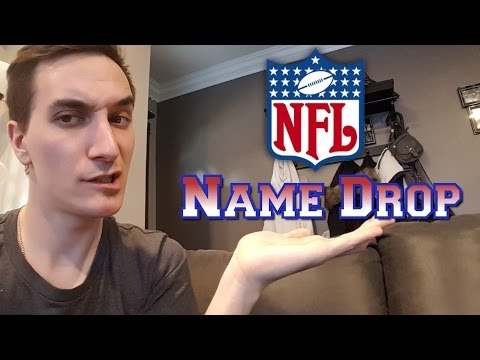 NFL Name Drop Story - Same Story but with AMERICA'S SPORT!