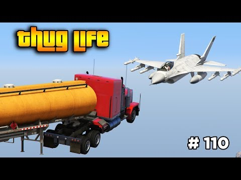 GTA 5 ONLINE : THUG LIFE AND FUNNY MOMENTS (WINS, STUNTS AND FAILS #110)