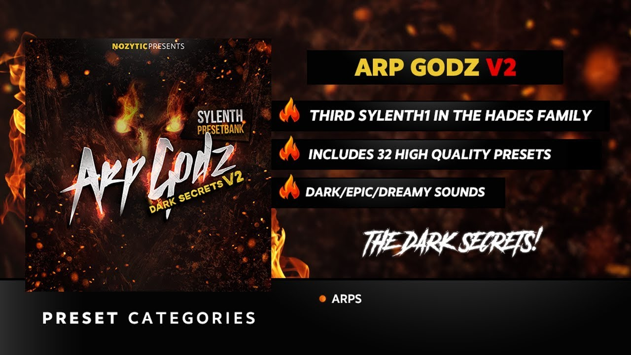 Arp Godz Vol  2 (Sylenth Bank)