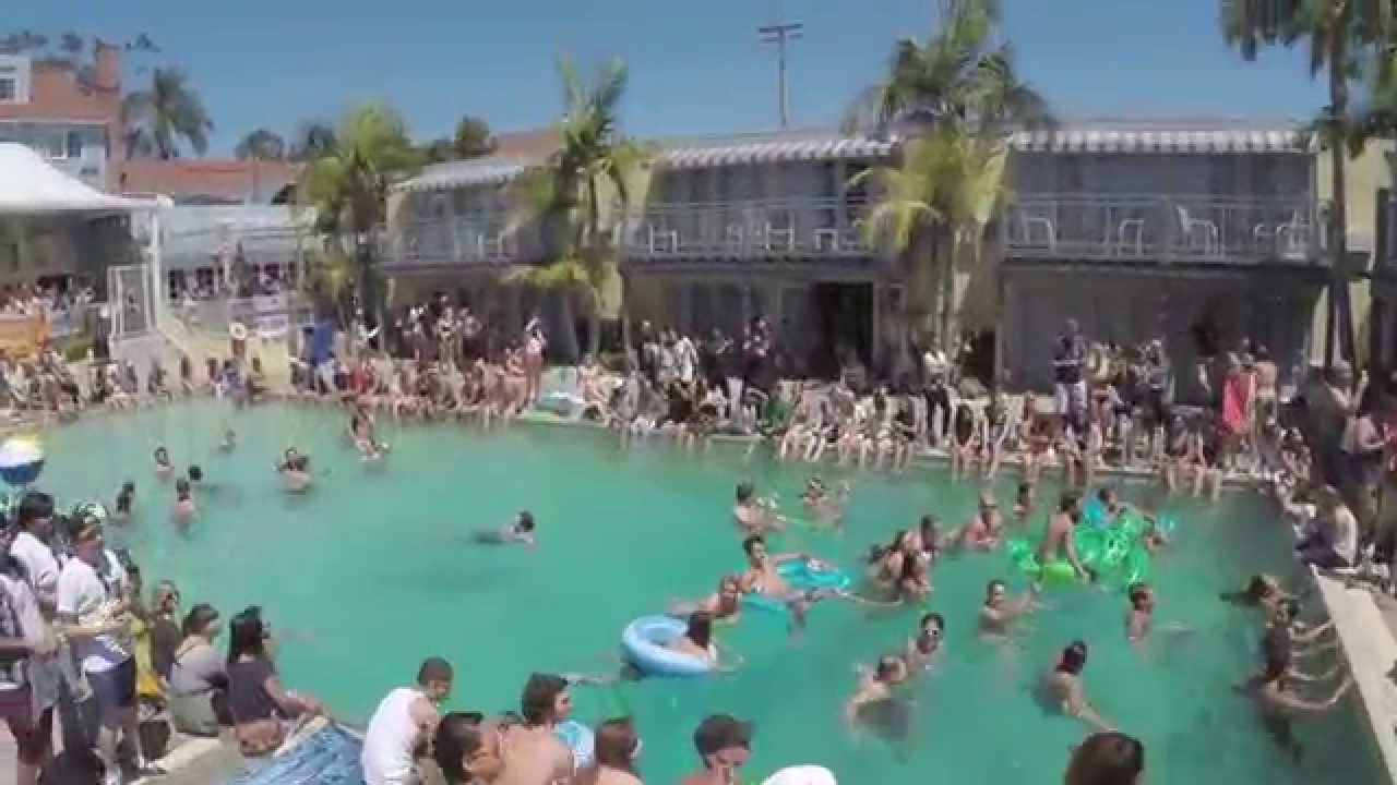 Lafayette Hotel Pool Party Aerial Video
