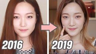 얼굴이 작아졌다! 3년간 변화한 얼굴형 관리비법 정리
