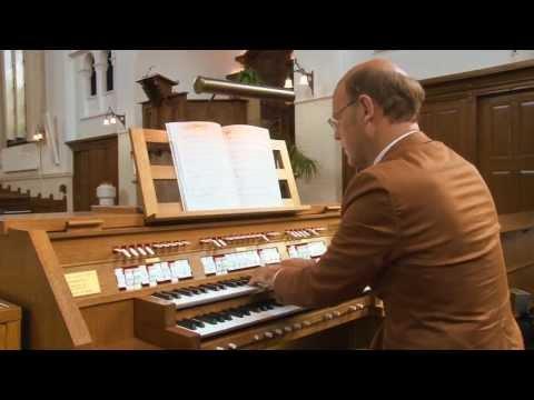 Willem van Twillert plays Mendelssohn, O Rest in the Lord, Walcker organ, Wildervank [NL]