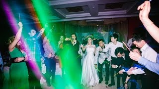 Финал свадьбы с ведущей Евгенией Резниченко, Москва