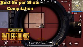 PUBG MOBILE | Best Sniper Shots Compilation |