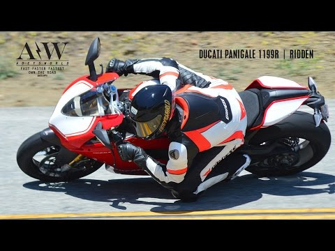2015 DUCATI PANIGALE 1199R BREAK IN