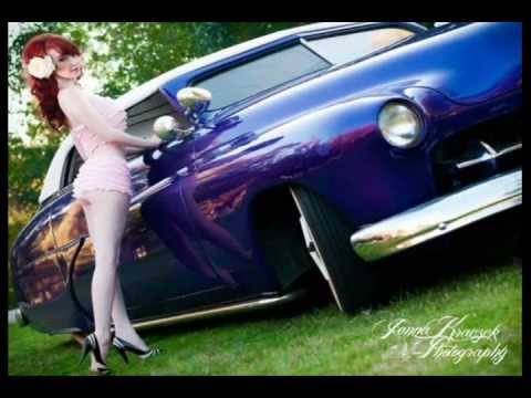 Pin Up Dolls and Hot Rods - YouTube