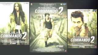 Commando 2 Movie FIRST Look Poster Vidyut Jammwal,Adah Sharma,Esha Gupta