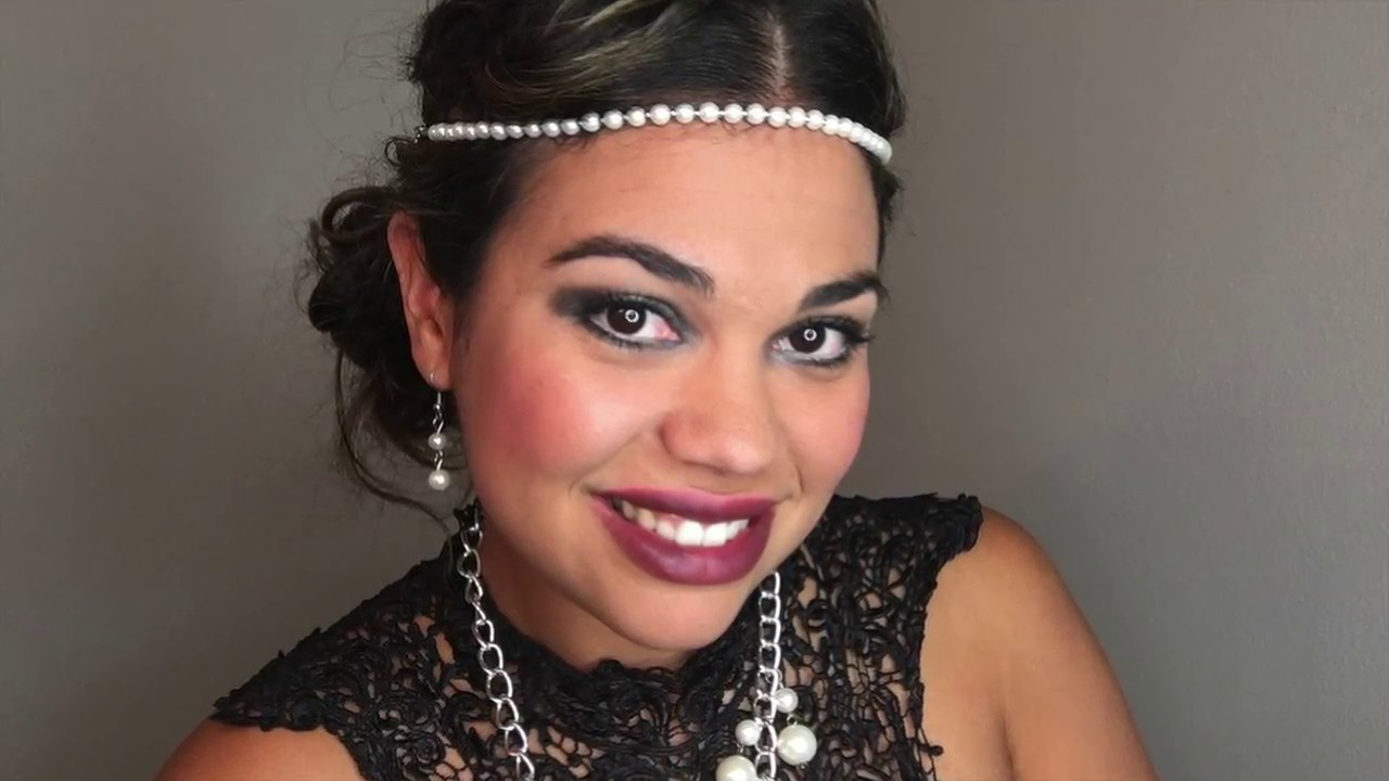 The Roaring 20s Makeup Tutorial Youtube - 20s-makeup