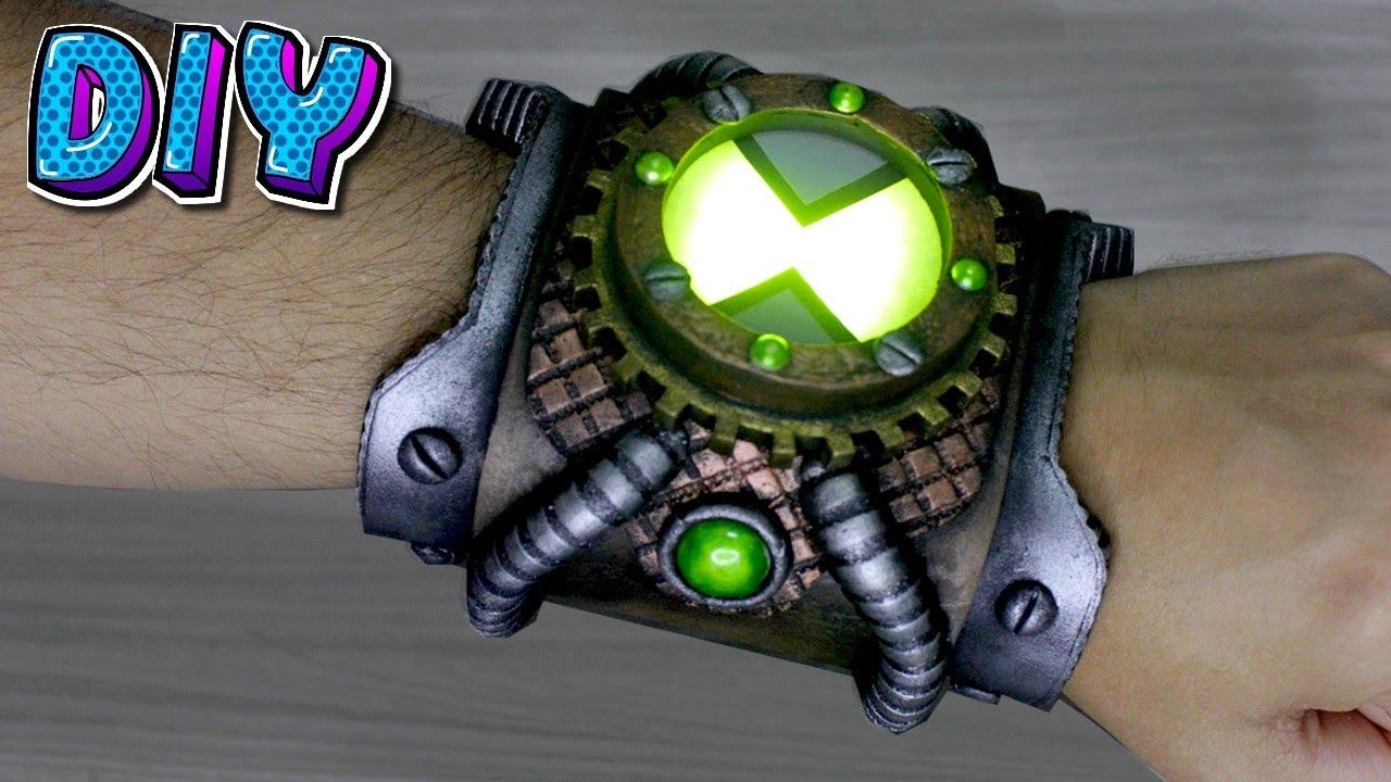 Omnitrix versão Steampunk - DIY Ben 10.