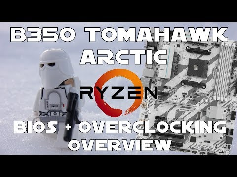 Msi B350 Tomahawk Arctic - Bios + Overclocking Review