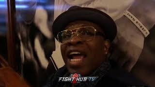"KENNY PORTER ""WE BREAK DANNY GARCIA DOWN! HE DOESNT WANT TO FIGHT SHAWN WANTS NOTHING TO DO W/HIM"""