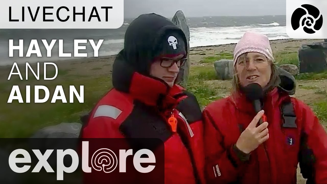 Hayley and Aidan from the Inukshuk - Live Chat