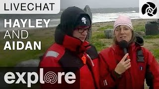 Hayley and Aidan from the Inukshuk - Live Chat thumbnail